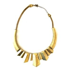 Unique Gold Antique Style Necklace